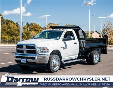 2018 Ram 3500 Regular Cab DRW 4x4,  Knapheide Drop Side Dump Body #R18149 - photo 5