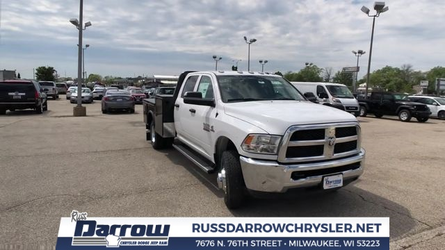 2018 Ram 3500 Crew Cab DRW 4x4,  Knapheide Platform Body #R18164 - photo 1