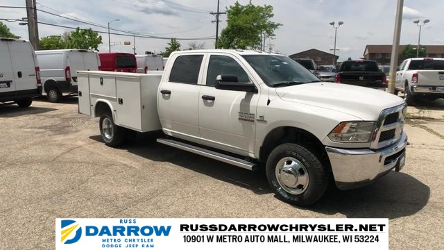 2018 Ram 3500 Crew Cab DRW 4x4,  Knapheide Service Body #R18180 - photo 1