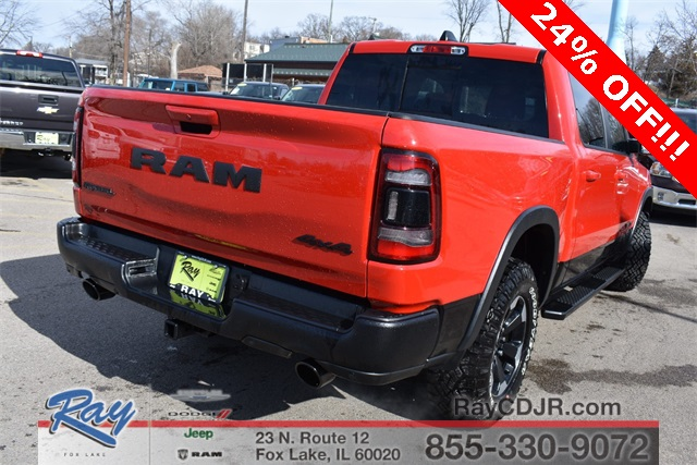 2019 Ram 1500 Crew Cab 4x4, Pickup #R1585 - photo 2
