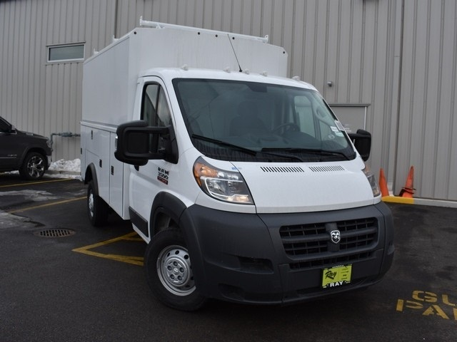 2018 ProMaster 3500 Standard Roof FWD,  Reading Service Utility Van #R1594 - photo 9