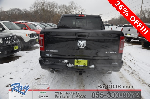 2019 Ram 1500 Crew Cab 4x4,  Pickup #R1604 - photo 7