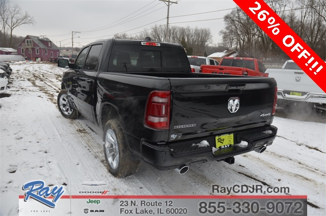2019 Ram 1500 Crew Cab 4x4,  Pickup #R1604 - photo 8