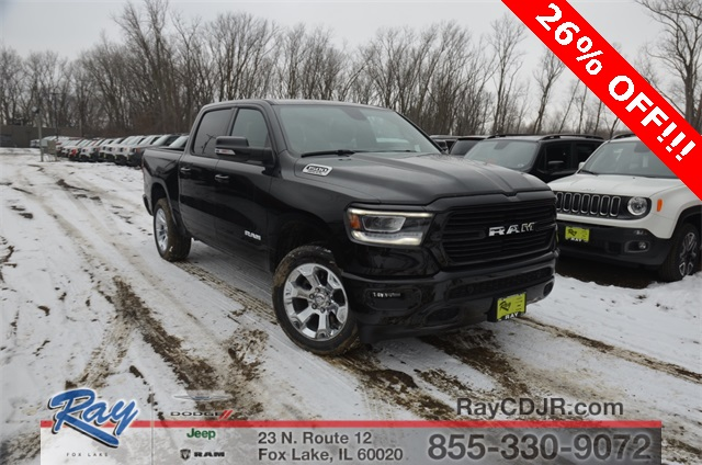 2019 Ram 1500 Crew Cab 4x4,  Pickup #R1604 - photo 9