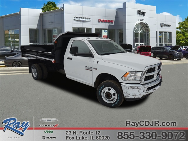 2018 Ram 3500 Regular Cab DRW 4x4,  Monroe Dump Body #R1651 - photo 1