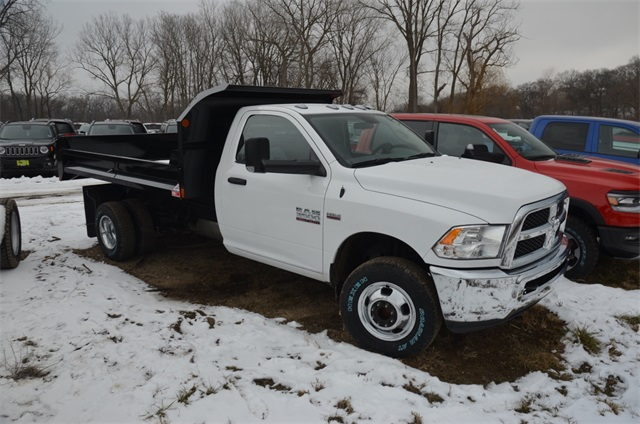 2018 Ram 3500 Regular Cab DRW 4x4,  Monroe Dump Body #R1651 - photo 4