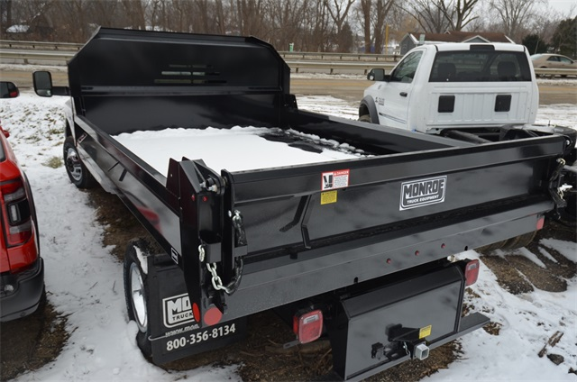 2018 Ram 3500 Regular Cab DRW 4x4,  Monroe Dump Body #R1651 - photo 8