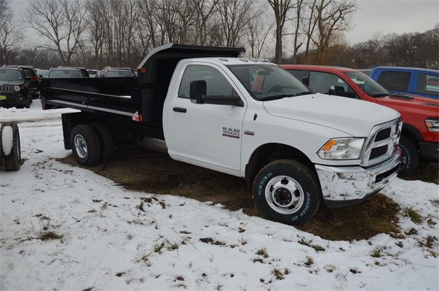 2018 Ram 3500 Regular Cab DRW 4x4,  Monroe Dump Body #R1651 - photo 9
