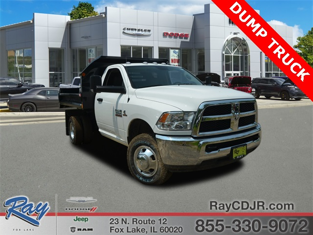 2018 Ram 3500 Regular Cab DRW 4x4, Monroe Dump Body #R1665 - photo 1