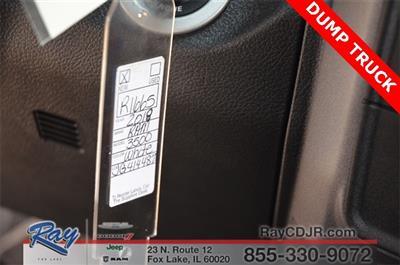 2018 Ram 3500 Regular Cab DRW 4x4,  Monroe MTE-Zee Dump Body #R1665 - photo 22