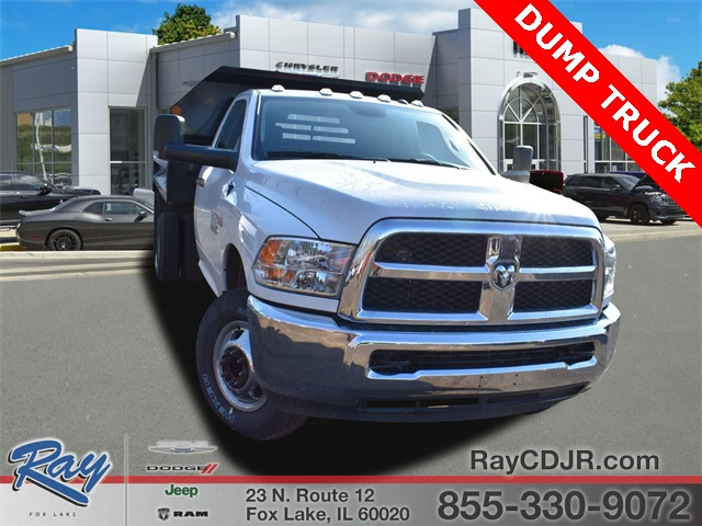 2018 Ram 3500 Regular Cab DRW 4x4,  Monroe Dump Body #R1666 - photo 1