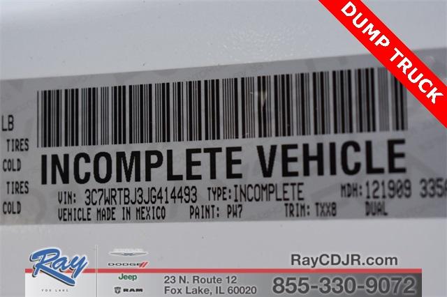 2018 Ram 3500 Regular Cab DRW 4x4,  Monroe MTE-Zee Dump Body #R1666 - photo 27