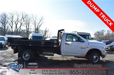 2018 Ram 3500 Regular Cab DRW 4x4,  Monroe MTE-Zee Dump Body #R1666 - photo 3
