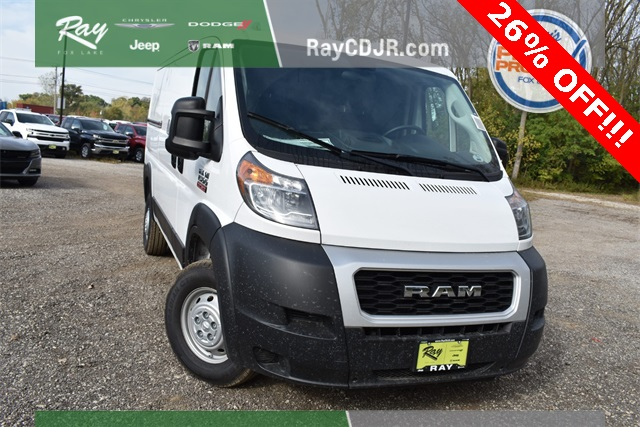 2019 ProMaster 1500 Standard Roof FWD, Empty Cargo Van #R1721 - photo 12