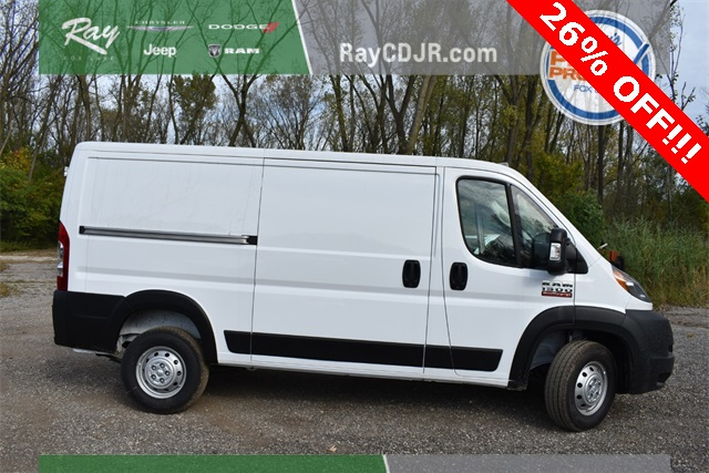 2019 ProMaster 1500 Standard Roof FWD,  Empty Cargo Van #R1721 - photo 3