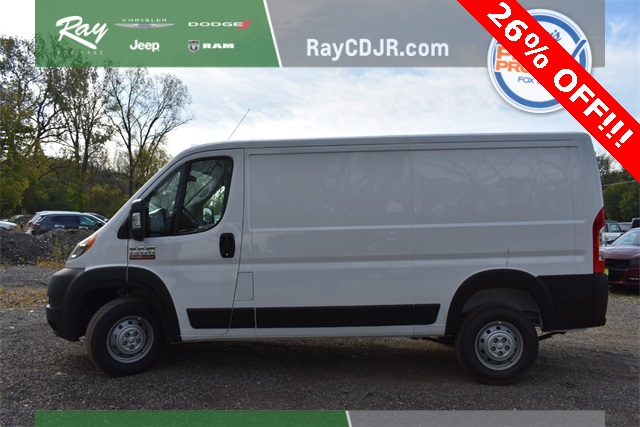 2019 ProMaster 1500 Standard Roof FWD, Empty Cargo Van #R1721 - photo 9