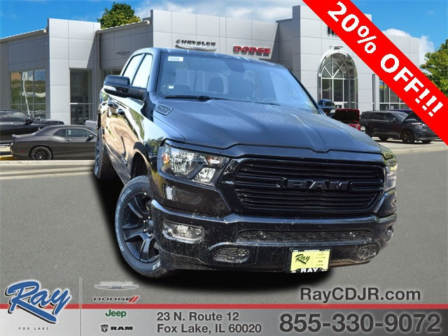 2020 Ram 1500 Crew Cab 4x4,  Pickup #R1761 - photo 1