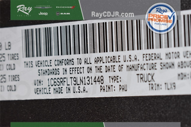 2020 Ram 1500 Crew Cab 4x4, Pickup #R1788 - photo 38