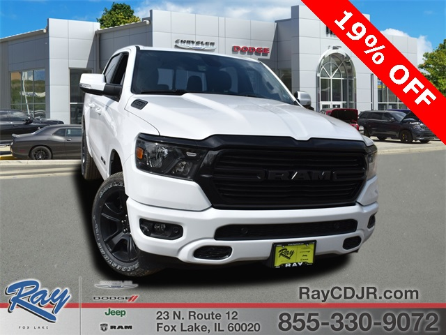 2020 Ram 1500 Crew Cab 4x4, Pickup #R1795 - photo 1