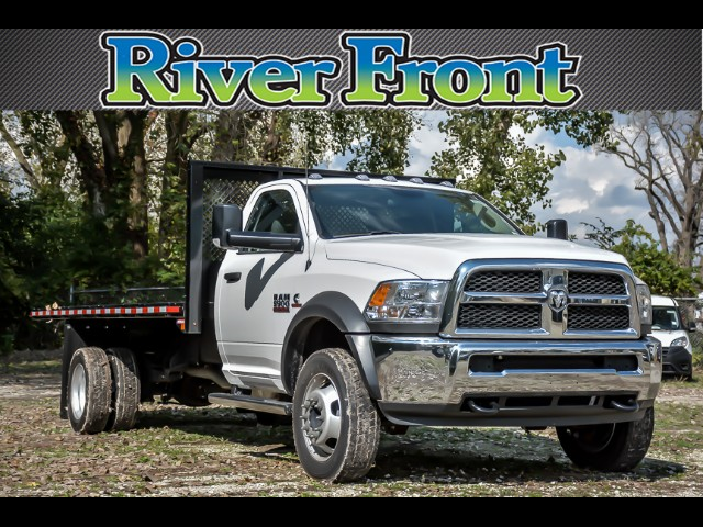 2018 Ram 5500 Regular Cab DRW 4x2,  Morgan MHP Heavy Duty Platform Body #181476 - photo 1