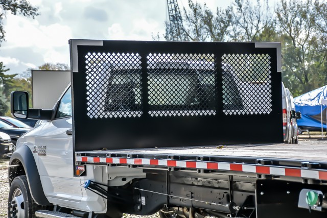 2018 Ram 5500 Regular Cab DRW 4x2,  Morgan Platform Body #181476 - photo 9