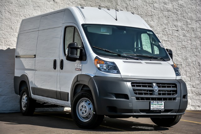 2018 ProMaster 1500 High Roof 4x2,  Empty Cargo Van #18677 - photo 3
