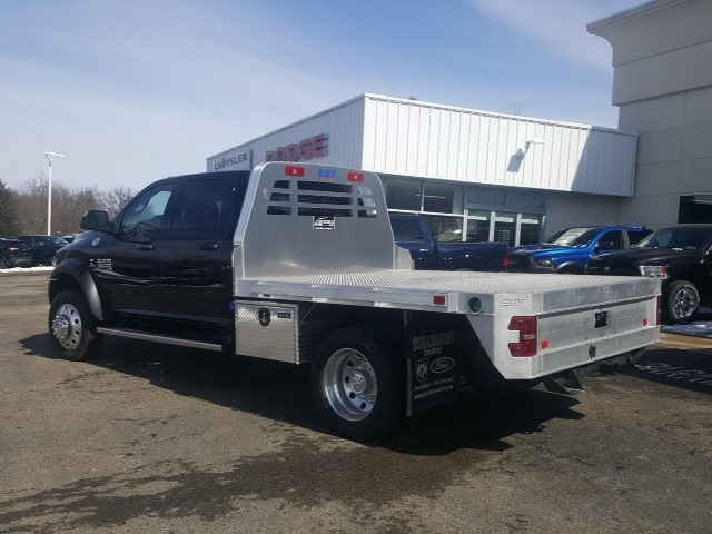 2018 Ram 5500 Crew Cab DRW 4x4, Platform Body #8R044 - photo 2