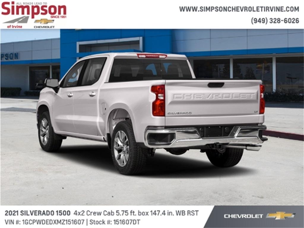 2021 Chevrolet Silverado 1500 Crew Cab 4x2, Pickup #151607DT - photo 1