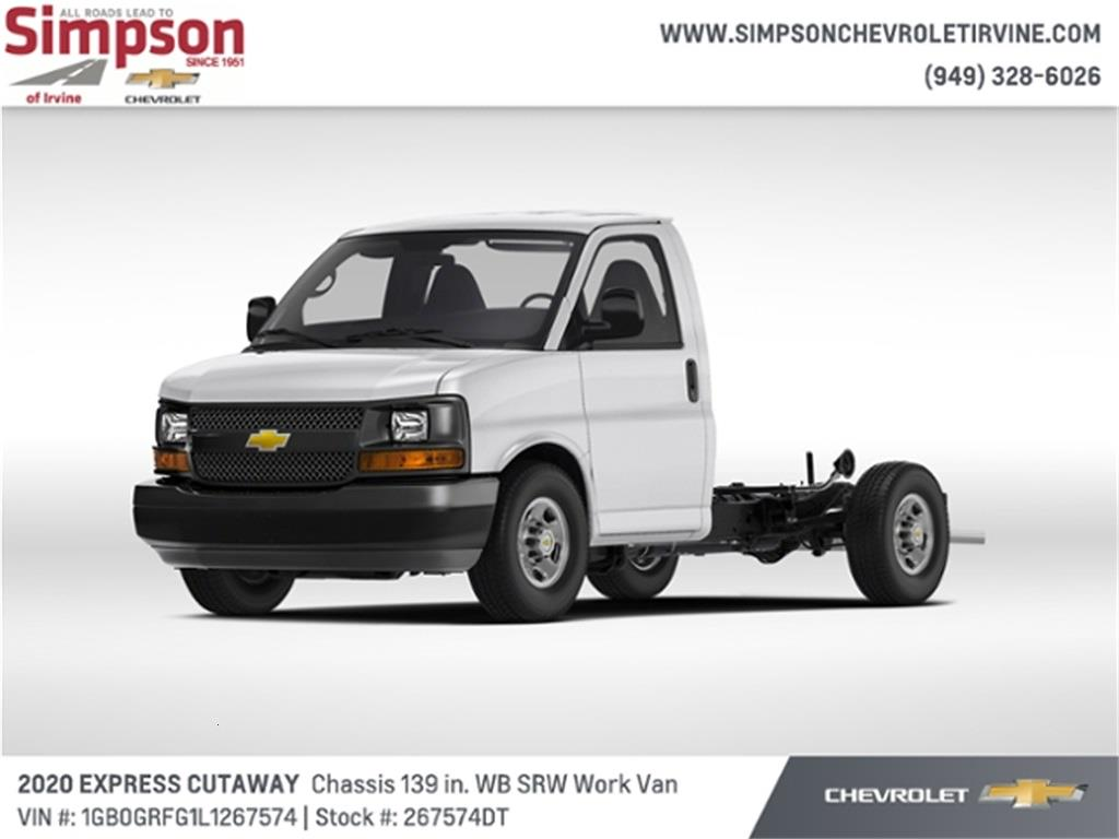 2020 Chevrolet Express 3500 4x2, Cutaway #267574DT - photo 1