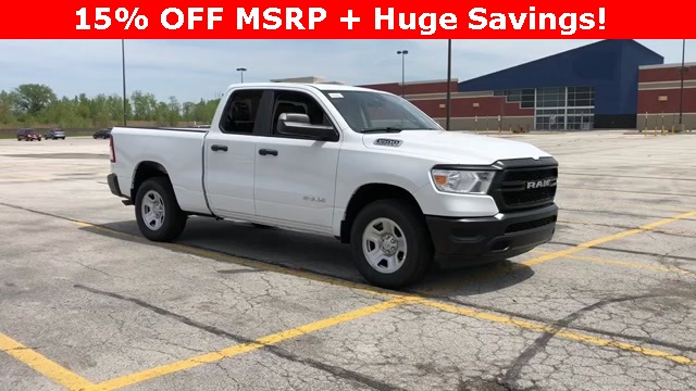 2019 Ram 1500 Quad Cab 4x4,  Pickup #D190041 - photo 3