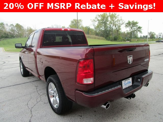 2019 Ram 1500 Quad Cab 4x4,  Pickup #D190145 - photo 2