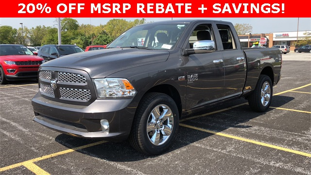 2019 Ram 1500 Quad Cab 4x4,  Pickup #D190147 - photo 1