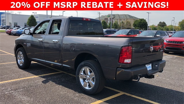 2019 Ram 1500 Quad Cab 4x4,  Pickup #D190147 - photo 2