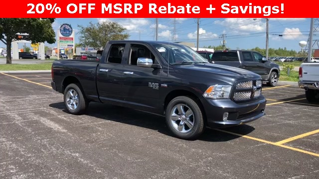 2019 Ram 1500 Quad Cab 4x4,  Pickup #D190148 - photo 1