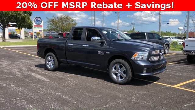 2019 Ram 1500 Quad Cab 4x4,  Pickup #D190148 - photo 3