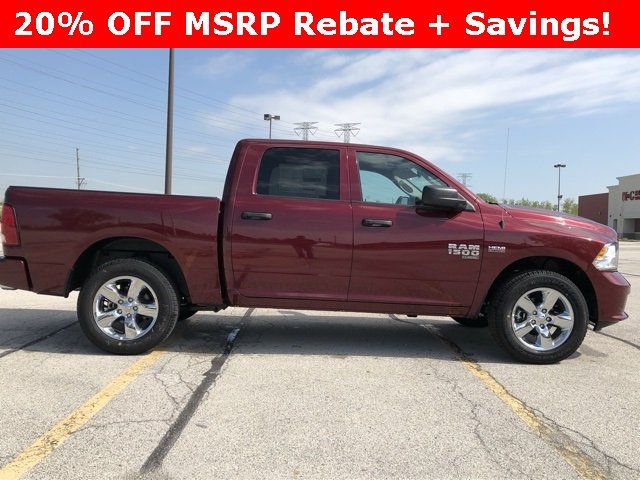 2019 Ram 1500 Crew Cab 4x4,  Pickup #D190273 - photo 3