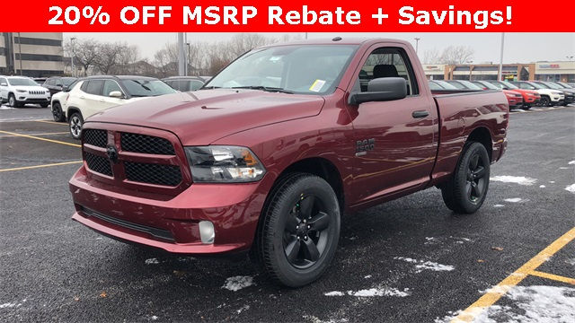 2019 Ram 1500 Regular Cab 4x4,  Pickup #D190377 - photo 1