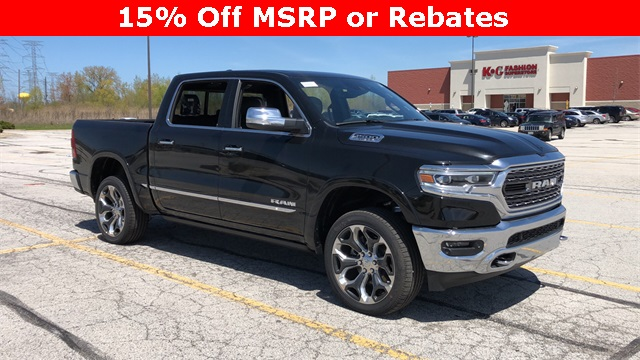 2019 Ram 1500 Crew Cab 4x4,  Pickup #D190703 - photo 1