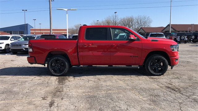 2020 Ram 1500 Crew Cab 4x4, Pickup #DTT200215 - photo 3