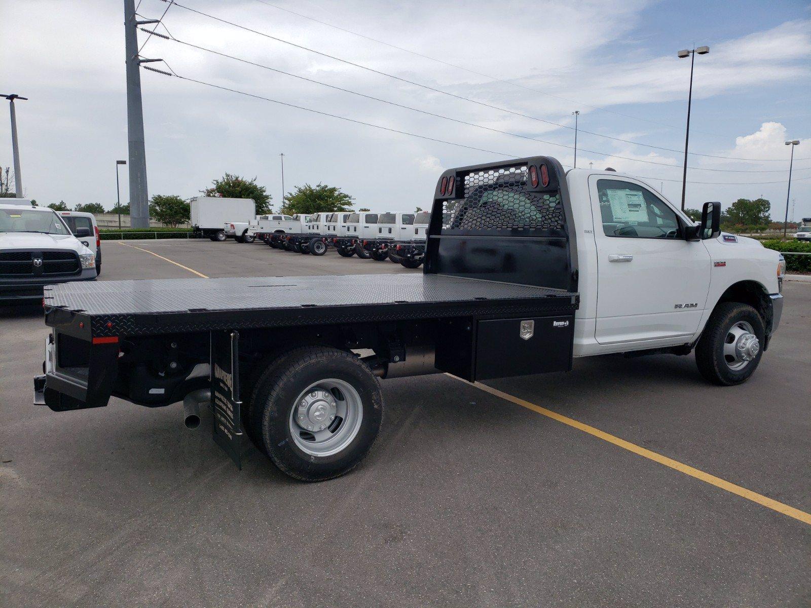 2019 Ram 3500 Regular Cab DRW 4x2, Knapheide Platform Body #G671246 - photo 1