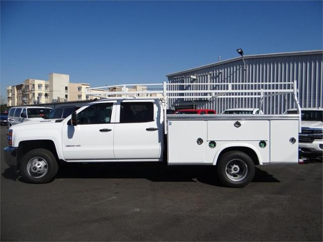 2018 Silverado 3500 Crew Cab DRW 4x2,  Royal Service Body #180162 - photo 22