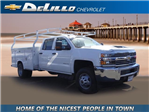2018 Silverado 3500 Crew Cab DRW 4x2,  Royal Service Body #180162 - photo 1