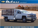2018 Silverado 3500 Regular Cab DRW 4x2,  Royal Stake Bed #181076 - photo 1