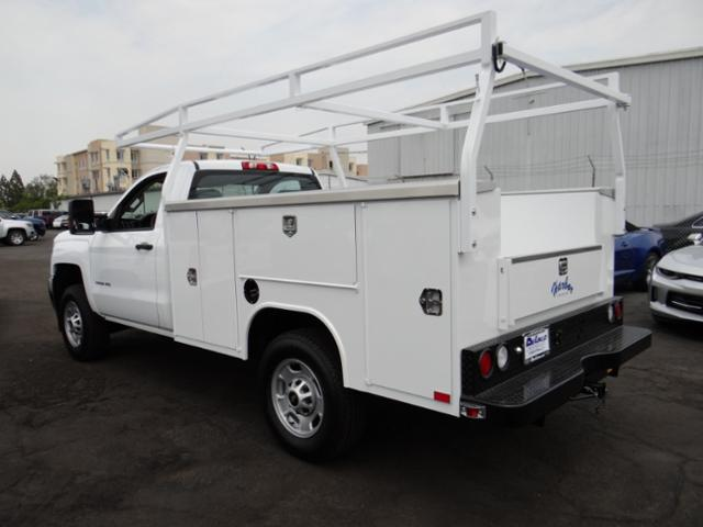 2018 Silverado 2500 Regular Cab 4x2,  Harbor Service Body #181420 - photo 2