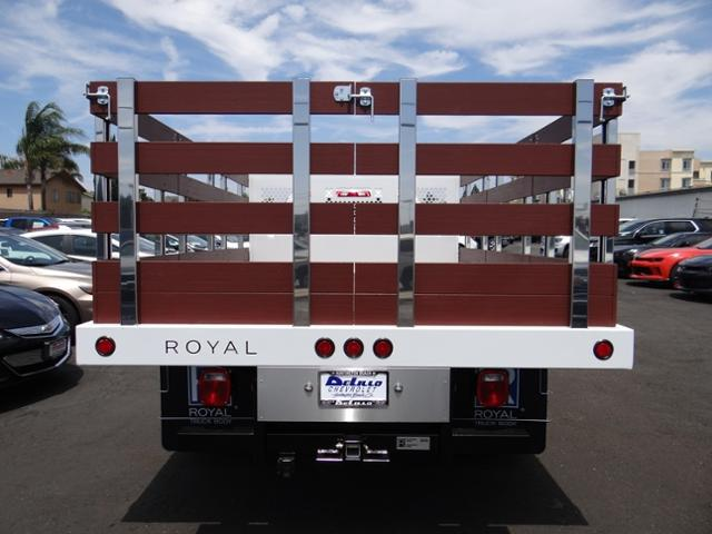 2019 Silverado 3500 Regular Cab DRW 4x2,  Royal Stake Bed #190054 - photo 13