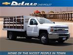 2019 Silverado 3500 Regular Cab DRW 4x2,  Royal Stake Bed #190054 - photo 1