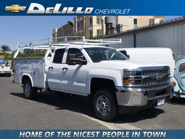 2019 Silverado 2500 Double Cab 4x2, Royal Service Body #191160 - photo 1