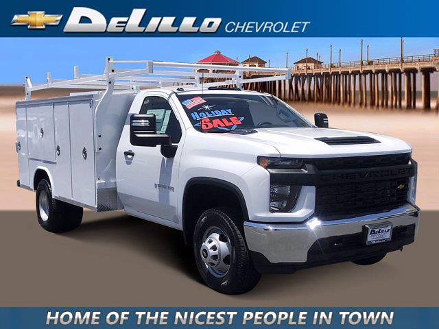 2021 Silverado 3500 Regular Cab 4x2,  Royal Truck Body Service Body #210183 - photo 1