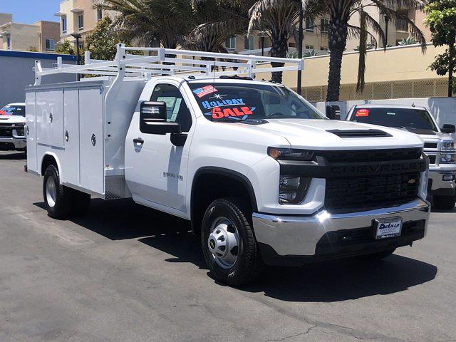 2021 Silverado 3500 Regular Cab 4x2,  Royal Truck Body Service Body #210183 - photo 4