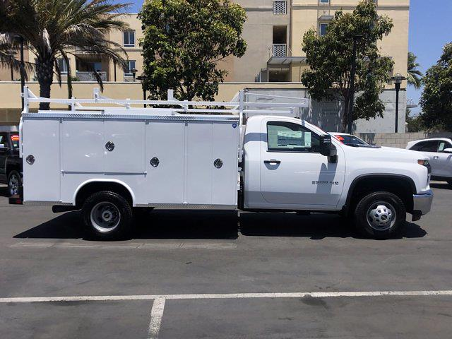 2021 Silverado 3500 Regular Cab 4x2,  Royal Truck Body Service Body #210183 - photo 3